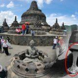 Parah! Lebih Dari 3.000 Permen Karet Menempel di Batuan Candi Borobudur