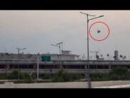 Duh, Sebuah Balon Udara Raksasa Jatuh Di Area Bandara Ahmad Yani Semarang