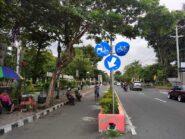 Pemkot Magelang Bangun Jalur Sepeda Dengan Pembatas Permanen di 9 Ruas Jalan Protokol