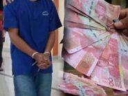 Yapto Sudibyo CS Bikin Uang Palsu Nilainya Capai Rp1 Miliar, Disetor Lewat ATM